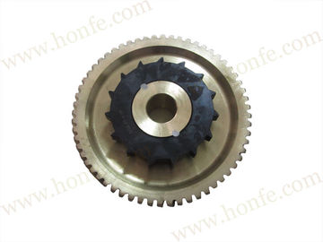 PS0401 Weaving Sulzer Loom Spare Parts Worm Wheel / Gear 911-510-111 ISO9001